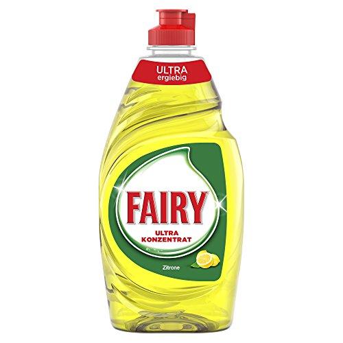 Fairy Ultra Spülmittel Zitrone, 10er Pack (10 x 450 ml)