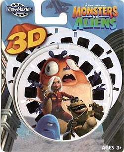 View-Master 3D Reels Monsters vs. Aliens by Monsters and Aliens (Image #1)