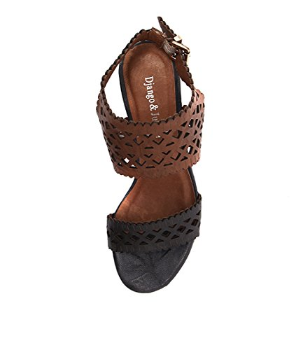 Caviar Shoes TAN JULIETTE Womens amp; Womens LEATHER Heels DJANGO NAVY YEU7aq