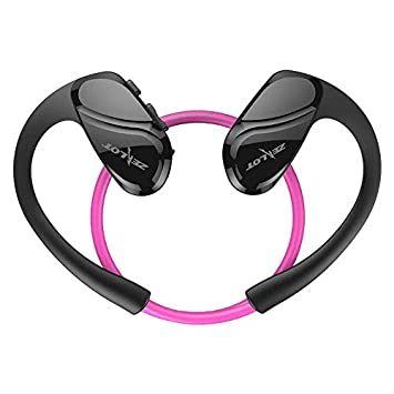 H6 HiFi Auriculares inalámbricos Bluetooth Impermeables Estéreo Bajo Deporte Auriculares con Micrófono Morado: Amazon.es: Electrónica