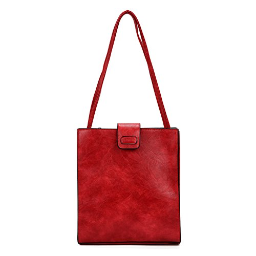 Shoulder Red For Hobo Leisure Crossbody Handbag Women's Bags Wild Top Bags Bags Bags handle Vintage Girls UZwIPqIKp