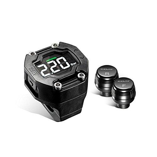 Moto pneumatici pressione monitor sistema Auto TPMS impermeabile 2 sensore esterno wireless display LCD sweetlife