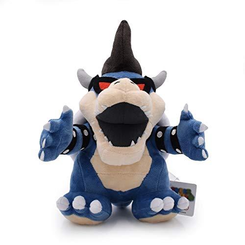 DiLi- Store Super Mario 3D Land Bone Kuba Dragon Dark Bowser Plush Toy Bolster Cartoon Plush Soft Stuffed Dolls Dry Bones Bowser Koopa 1 PCs (Super Mario 3d Land Best Price)