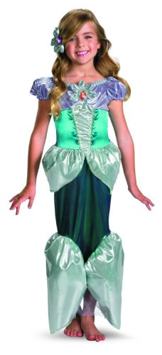 [Ariel Shimmer Deluxe Costume - Medium (7-8)] (8 People Costumes)