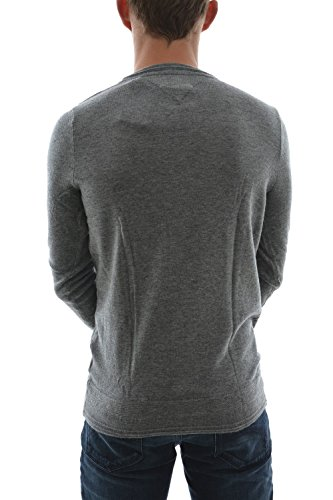 pull hiver Hilfiger Denim basic vn sweater 9 gris