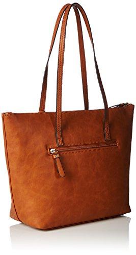 Gabor ADELE 7438 Damen Shopper 40x28x11 cm (B x H x T) Braun (Cognac Shopper)