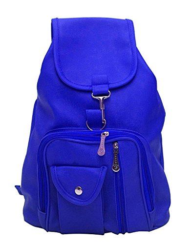 Bizarre Vogue Stylish College Bags Backpacks For Girls  Blue, BV980