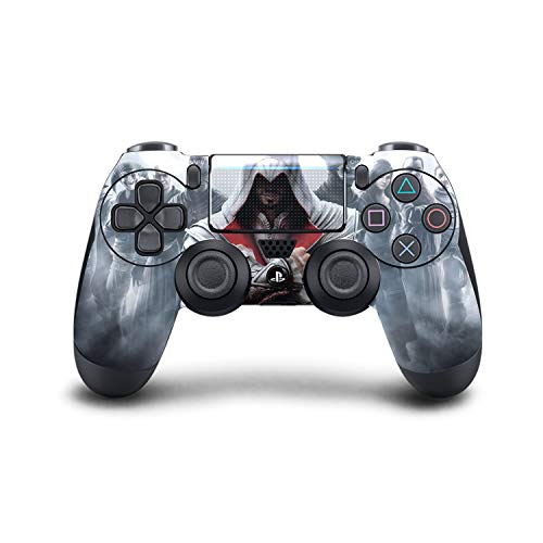 PS4 DualShock Wireless Controller Pro Console - Newest PlayStation4 Controller with Soft Grip & Exclusive Customized Version Skin (PS4-Assassin's Creed) (1 - Pack) (Best Assassins Creed Game Ever)