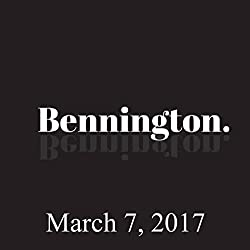 Bennington, March 07, 2017