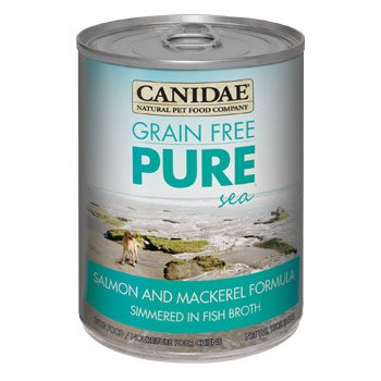 Canidae Grain Free Pure Sea Salmon & Mackerel Canned Dog Food, Case of 12, 13 oz.