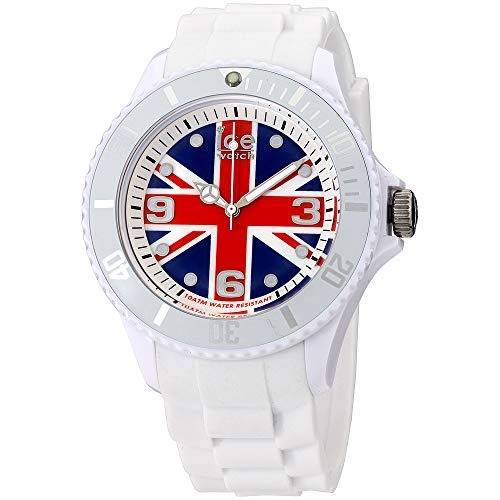 Ice- World U.K Edition Multi-Color Dial Silicone Strap Unisex Watch WO.UK.B.S.12 (Watch Ice)