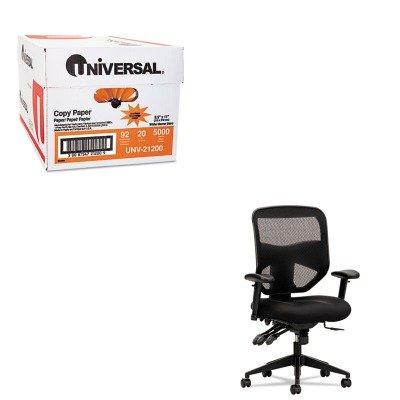 KITBSXVL532MM10UNV21200 - Value Kit - Basyx VL532 Series Mesh High-Back Task Chair (BSXVL532MM10) and Universal Copy Paper (UNV21200)