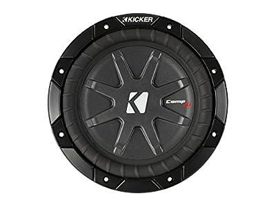 Kicker 40CWRT82 8-Inch 600 Watt Slim Sub 2-Ohm Powersport Weather Subwoofer