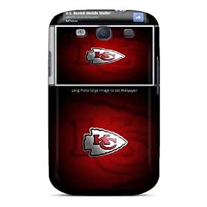 Hot SlG2863jiOd Kansas City Chiefs Tpu Case Cover Compatible With Galaxy S3