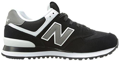 Nuovo Equilibrio M574gs Sneaker Herren Schwarz (nero / Whiteskw)