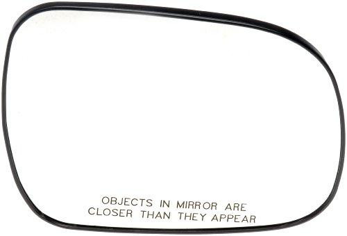 2006 Toyota Sienna Mirror - Dorman 56477 Toyota Sienna Passenger Side Heated Plastic Backed Door Mirror Glass