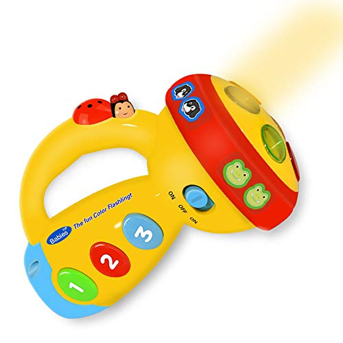 Dreamingbox Spin & Learn Fun Color Flashlight - Best Gift