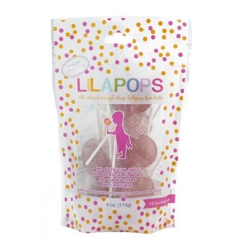 UPC 861209000013, Lilapops, Kids Cough Drop Lollipop, 15 Grapeberry Pops