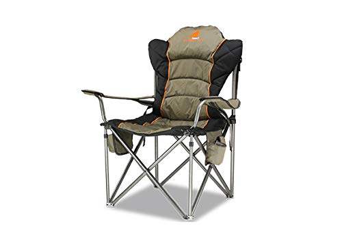 OzTent King Goanna Adjustable Lumbar Chair - OZKGC