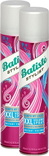 Batiste XXL Volume Dry Shampoo Spray, 200-ml 3624699