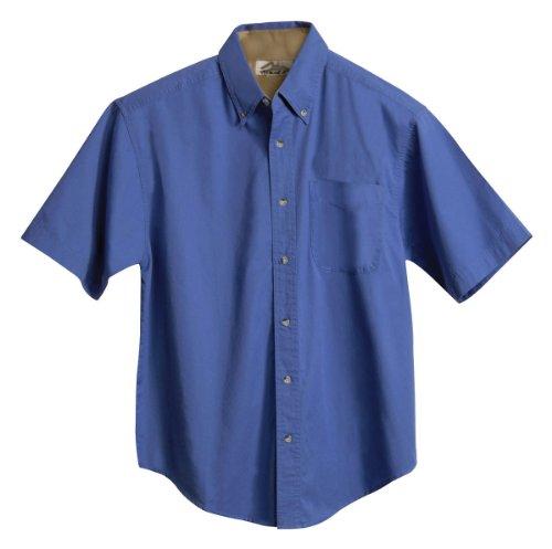 Tri Mountain Men's 5.5 oz 100% Cotton Woven Shirt - 788 (Short Sleeve Twill Shirt)