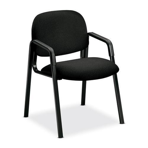 4003AB10T HON Solutions Seating 4003 Guest Chair - Black Seat - Polymer Back - Steel Black Frame - 23.5