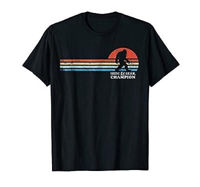 Hide & Seek Champion Bigfoot Funny T-Shirt