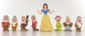 Colección Completa Figuras Blancanieves y los Siete Enanitos Disney