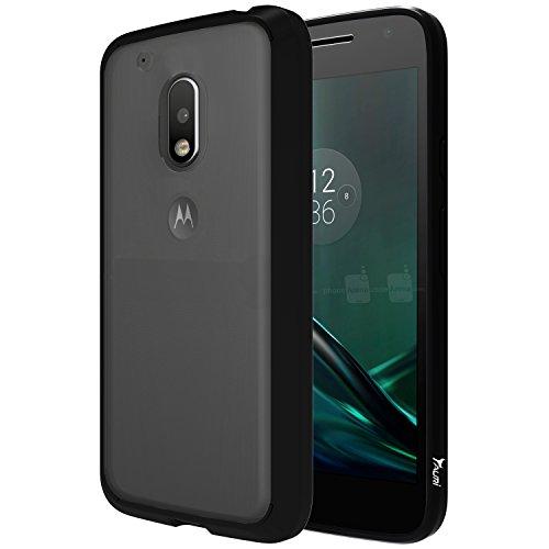 Anti-Fall Armor Phone Case for Moto G4 Play(Black) - 1