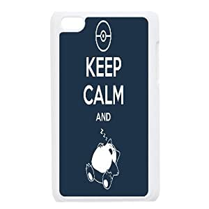 Design Keep Calm Pattern Hard Shell Cell Phone Case for Ipod Touch Case 4 TSL161335