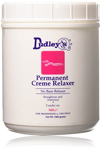 Dudley's No Base Mild Permanent Creme Relaxer, 52 Ounce