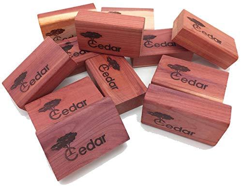 Closet Essentials Red Cedar Clothes Protector and Moth Repellent Storage Accessories 1-Pack (14 Blocks)