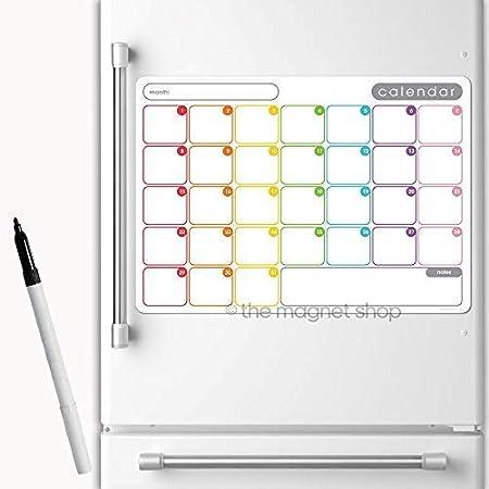 THE MAGNET SHOP magnético Calendario por Planificador Mensual ...
