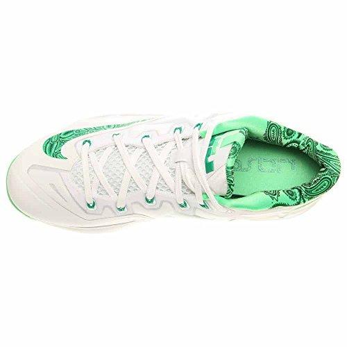 Nike Scarpe Da Uomo Max Lebron Xi Bassa Atmc Mng / Lt Bs Gry-kmqt-md Bs Bianco - Bianco
