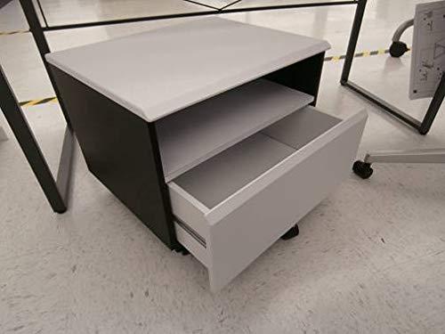 Acme Furniture ACME Ellis Black and White File Cabinet