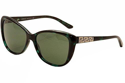 Versace 4264 507671 Green Havana 4264B Cats Eyes Sunglasses Lens Category 3 - Sunglasses Versace 2013