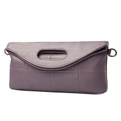 Taro Sac Gris Purple 5x3x14cm 29 coloré Eeayyygch À Purple Femme Capacité Main Grande pngTqCwP