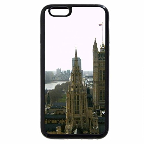 iPhone 6S / iPhone 6 Case (Black) View from top of Big Ben, London