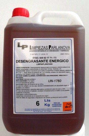 Desengrasante Enérgico - Limpiaplanchas: Amazon.es ...