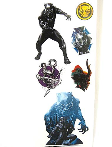 - Marvels Black Panther Vinyl Wall Sticker Wall Decals Room Decor - 8