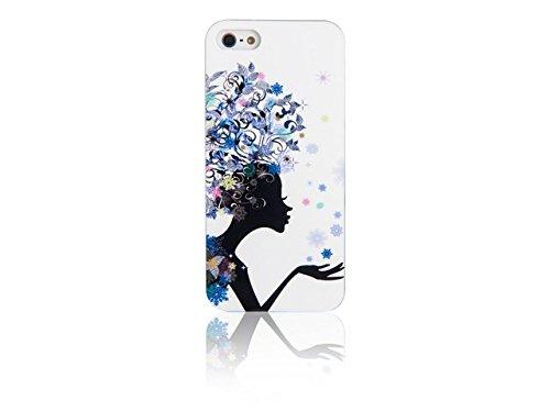 Spada 008769 Smartphone Schutzhülle Back Case - IMD - iPhone 5/5S - Bunt - Africa