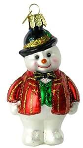 Old World Christmas Dapper Snowman Ornament