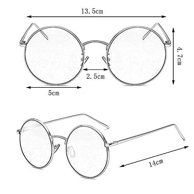 In colore Sole Miopia Sunglasses- Hop Hip Nuovi Occhiali Giallo Donna Per Retro Retrò Da