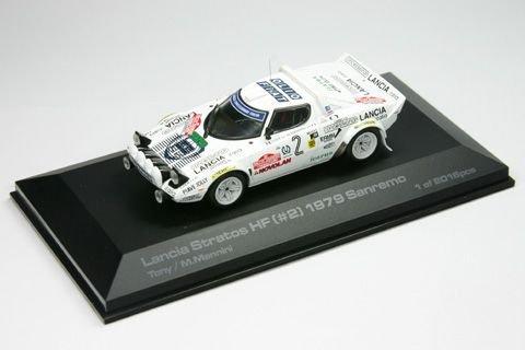 1/43 Lancia Stratos HF 1979 Sanremo MICHELIN #2(ホワイト) 8070