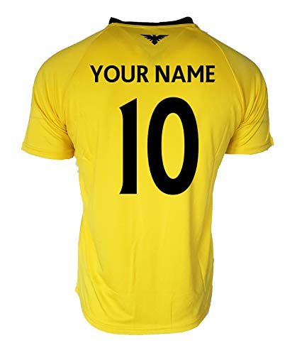 eb14986bf Club America Adults Soccer Jersey Performance Add Your Name and Number (XL
