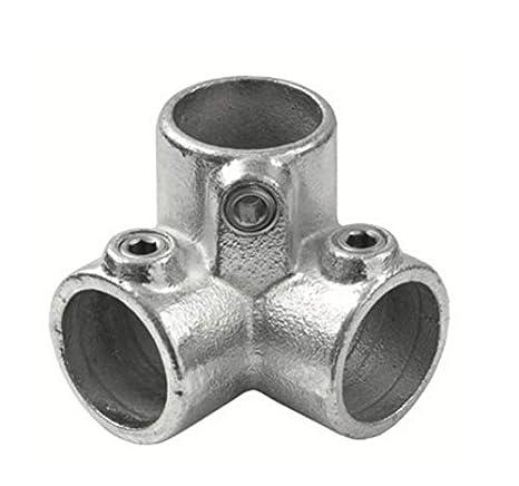 Conector de 3 Vías ángulo hidráulico estilo industrial para ...