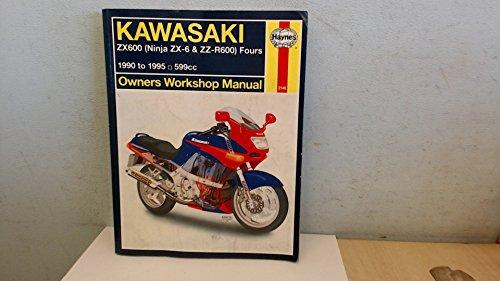 Kawasaki Zx600 (Ninja Zx-6 & Zz-R600) Fours Owners Workshop Manual (Hayne's Automotive Repair Manual)