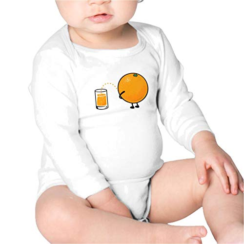 Price comparison product image Pikaqiuleilei Orange Juice Boys Cotton, Long Sleeve Baby Romper