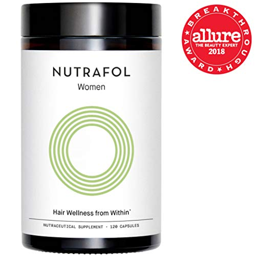 Nutrafol Hair Loss Thinning Supplement - Women Hair Vitamin for Thicker Healthier Hair, 120 Capsules