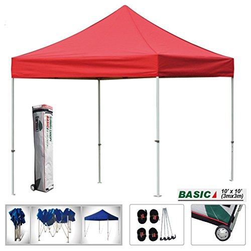 Eurmax Basic 10x10 Ez Pop up Canopy Instant Tent Outdoor ...